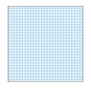 Салфетки 33х33 см., 3 слоя, голубая скатерть, 20 штук, Мистерия