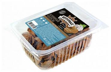 Гренки солодовые Хлебные чипсы с чесноком, Атард, 230 гр., подложка