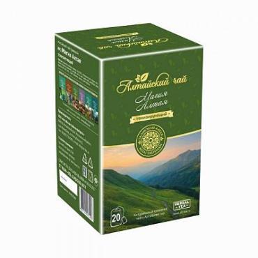 Чай, травяной, 20 пакетиков Талисман Алтая Алтайский Чай Магия Алтая, картон