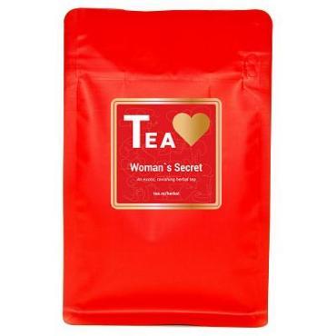 Чай, травяной Tea.Love Woman's Secret, 180 гр., пластиковый пакет