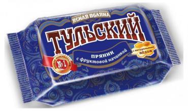 Пряник с фруктовой начинкой Ясная Поляна Тульский, 45 гр., флоу-пак