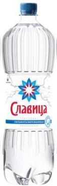 Вода минеральная газ, Славица, 1,5 л., ПЭТ