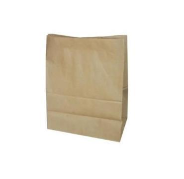 Пакет бумажный 320х180х340 мм., коричневый с дном 70 гр., 100 шт.