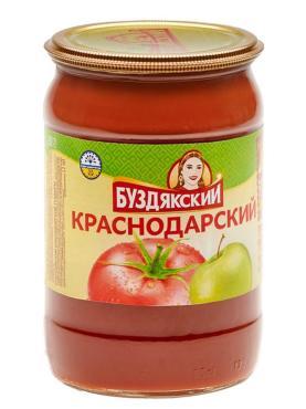 Соус Буздякский томатный краснодарский, 670 гр., стекло