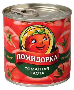 Томатная паста Помидорка,250 гр.,ж/б