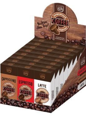 Карамель Конфитрейд Sweet Bar кофейная, 35 гр., картон