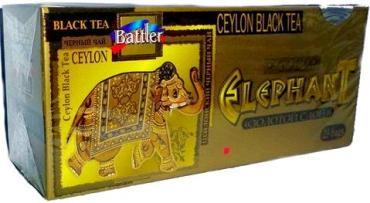 Чай Battler, Золотой гигант черный Клубника со сливками, 50 гр., картон