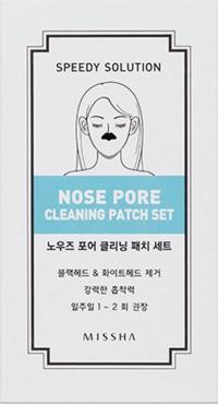 Очищающий патч для носа Missha Speedy Solution Nose Pore Cleaning Patch