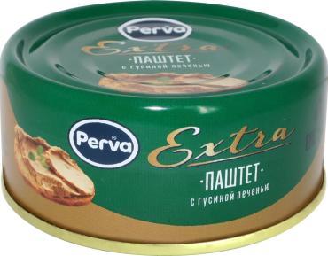 Паштет Perva Extra с гусиной печенью