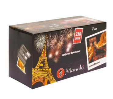Салфетки бумажные Maneki Dream Аромат Европы