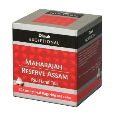 Чай Dilmah Exceptional Maharajan Reserve assam черный в пирамидках