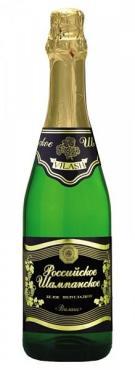 Шампанское Российское Платиновая серия полусладкое белое