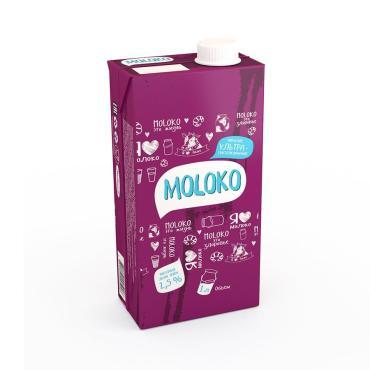Молоко ультрапастеризованное 2,5%,  Солигорск, 1 л., тетра-пак