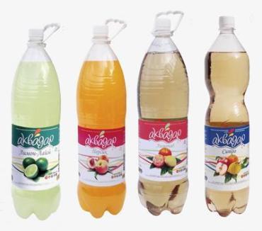 Газированная вода Аквадар Персик