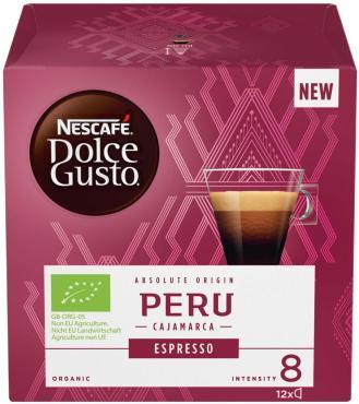 Кофе Nescafe Dolce Gusto Peru Cajamarca Espresso 12 капсул