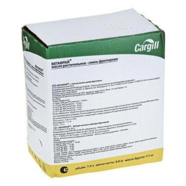 Масло Cargill Растительное Вегафрай 05 смесь фритюрная