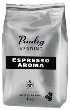 Кофе Paulig Vending Espresso Aroma в зернах