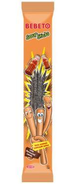 Мармелад Bebeto Sour Sticks Cola, 35 гр., Флоу-пак