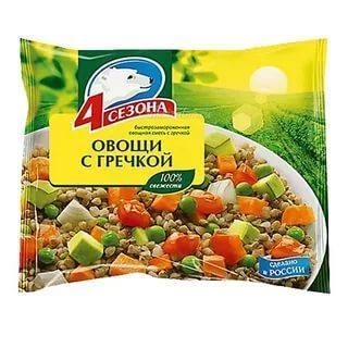 Смесь овощная 4 Сезона овощи с гречкой
