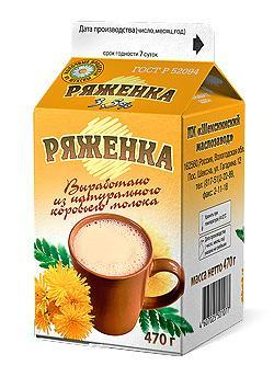 Ряженка ШМЗ 3,5%