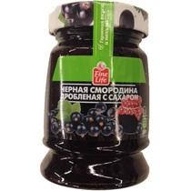 Черная смородина Fine Life дробленая с сахаром