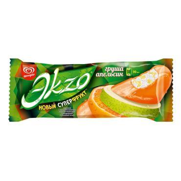 Мороженое Экзо Груша-Апельсин эскимо 70 гр