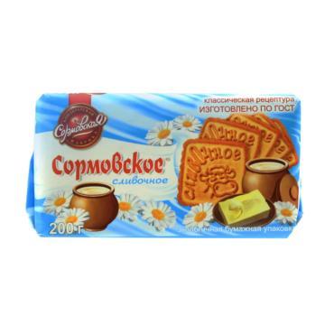 Печенье Сормовская КФ сливочное