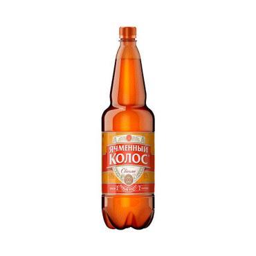 Пиво Ячменный Колос светлое 4,5% 1.35 л