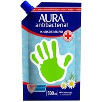 Жидкое мыло Aura antibacterial Увлажняющее с ромашкой