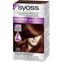 Краска для волос Syoss Gloss Sensation 5-86 горячий какао 115 мл