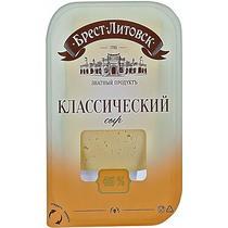 Сыр Брест-Литовск  Классический 45% нарезка-слайсер, 150 гр., в/у