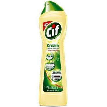 Крем чистящий Cif лимон