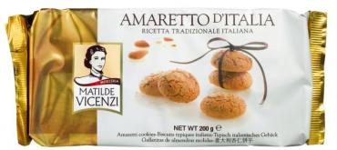 Печенье Amaretto D'Italia Matilde Vicenzi Амаретти