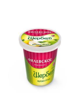 Мороженое Айсберри Филевское Шербет Яблоко-груша