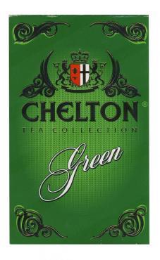 Чай крупнолистовой Chelton Green 100 гр., Картонная коробка