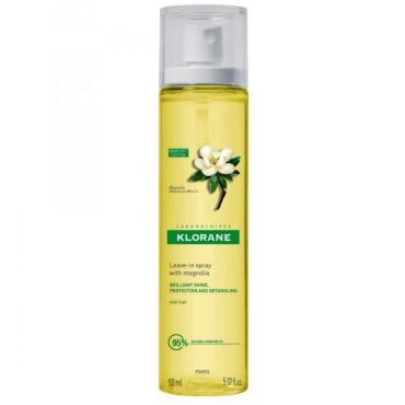 Спрей Klorane Magnolia для блеска волос с воском Магнолии