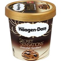 Мороженое пломбир Haagen Dazs шоколадный фондан 379 г