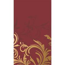 Скатерть Duni Grace Bord бумажная Бордовая 138смx220см