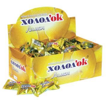 Жевательная резинка Холодок со вкусом лимона