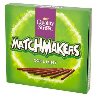 Печенье Nestle Шоколадные палочки Quality Street Matchmakers Cool mint