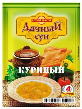 Суп Русский продукт Дачный куриный