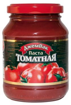 Томатная паста Джем Пак,500 гр.,стекло