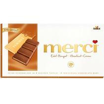 Шоколад Merci с ореховым кремом