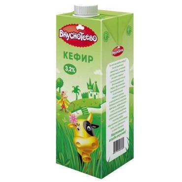 Кефир Вкуснотеево 3,2%