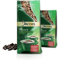 Кофе Jacobs Monarch в зернах 430 гр.