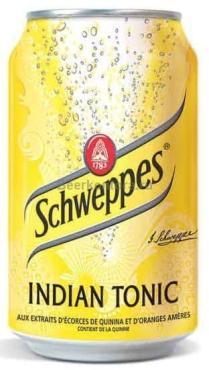 Газированный напиток Schweppes Indian Tonic