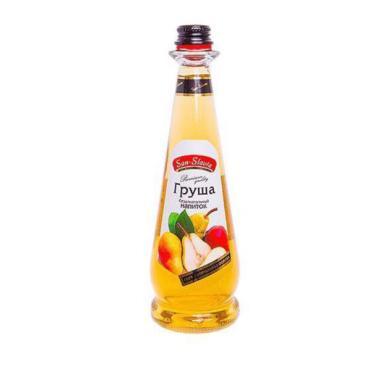 Напиток Груша безалкогольный газированный San-Slavia, 500 мл., стекло