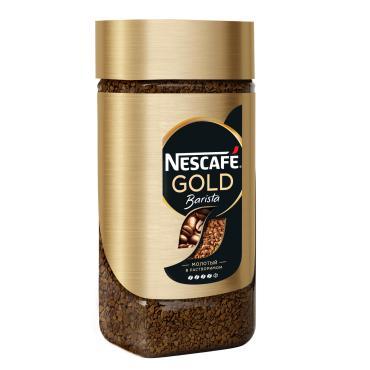 Кофе Nescafe Gold Бариста растворимый