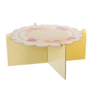 Подставка для пирожных бумага 12х26см