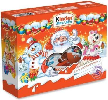 Набор кондитерских изделий Kinder Maxi Mix